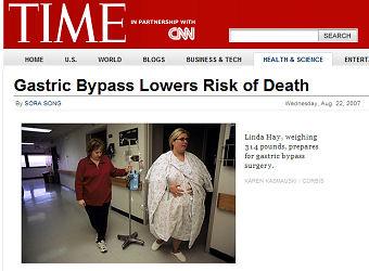"Time Magazine Headline ""Risk ofDeath"""